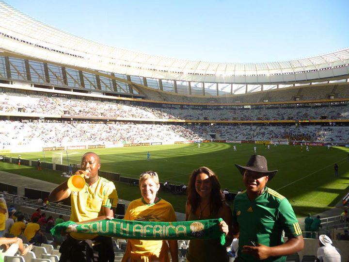 South African National team soccer game