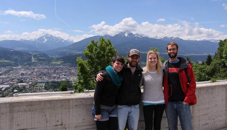 Visiting the Austrian Alps
