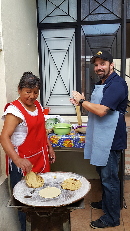 Making Tortillas in Mexico