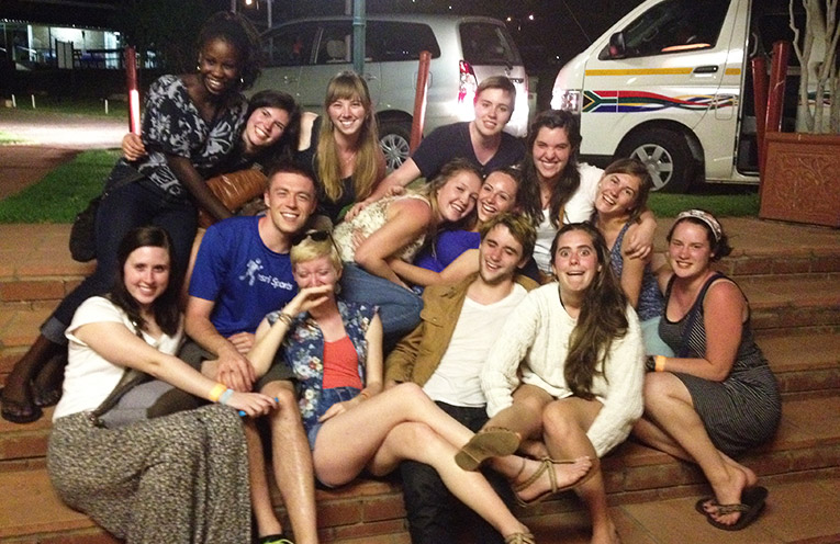 Study abroad students in Johannesburg, South Africa