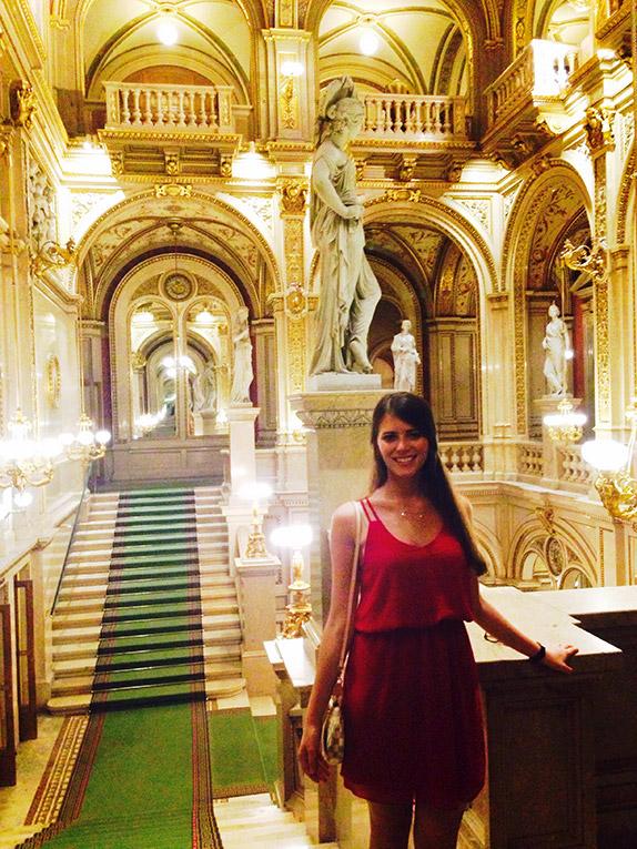 Opera House in Vienna, Austria