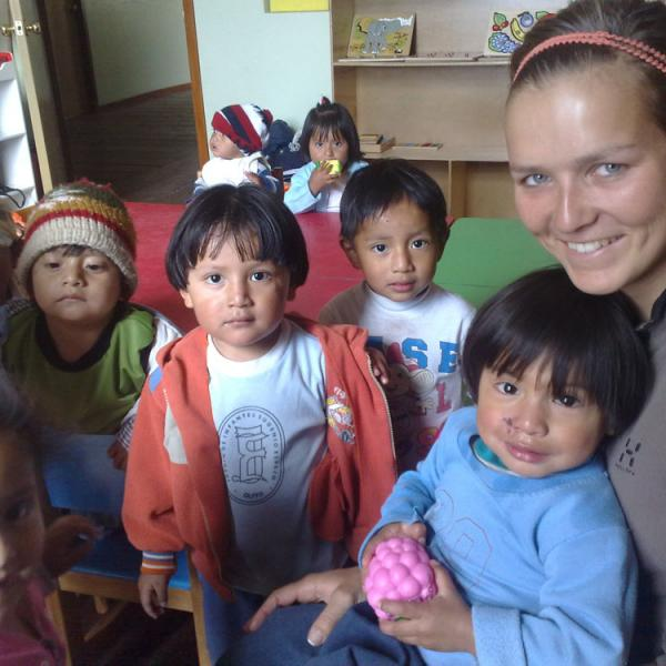 Childcare Programs in Ecuador with Love Volunteers!