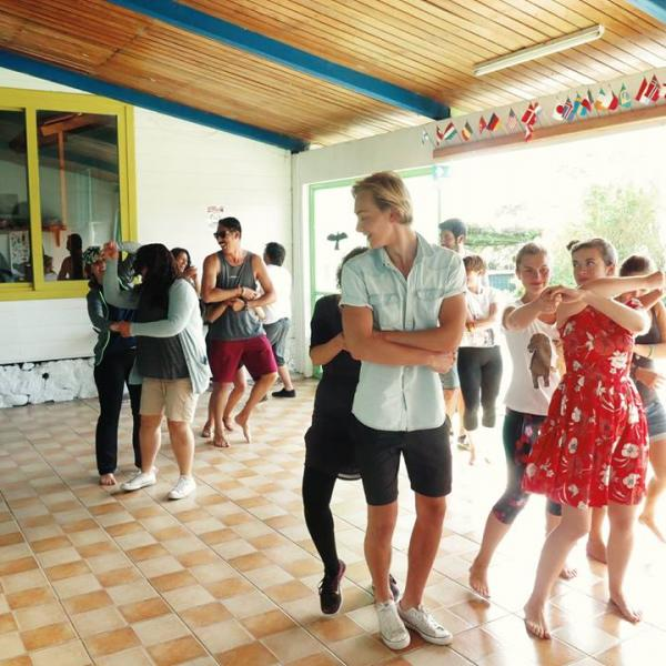 Cultural activity: Latin dance classes