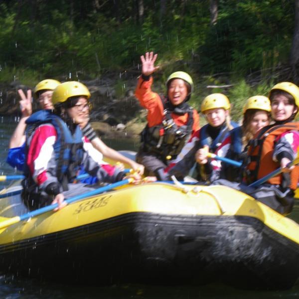 white water rafting in hokkaido