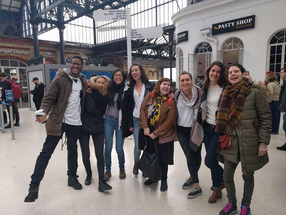 End of Internship in UK