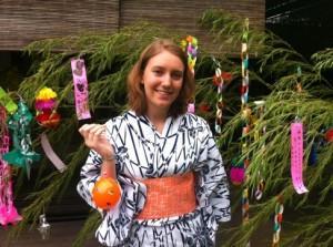 Japan Kimono lanterns