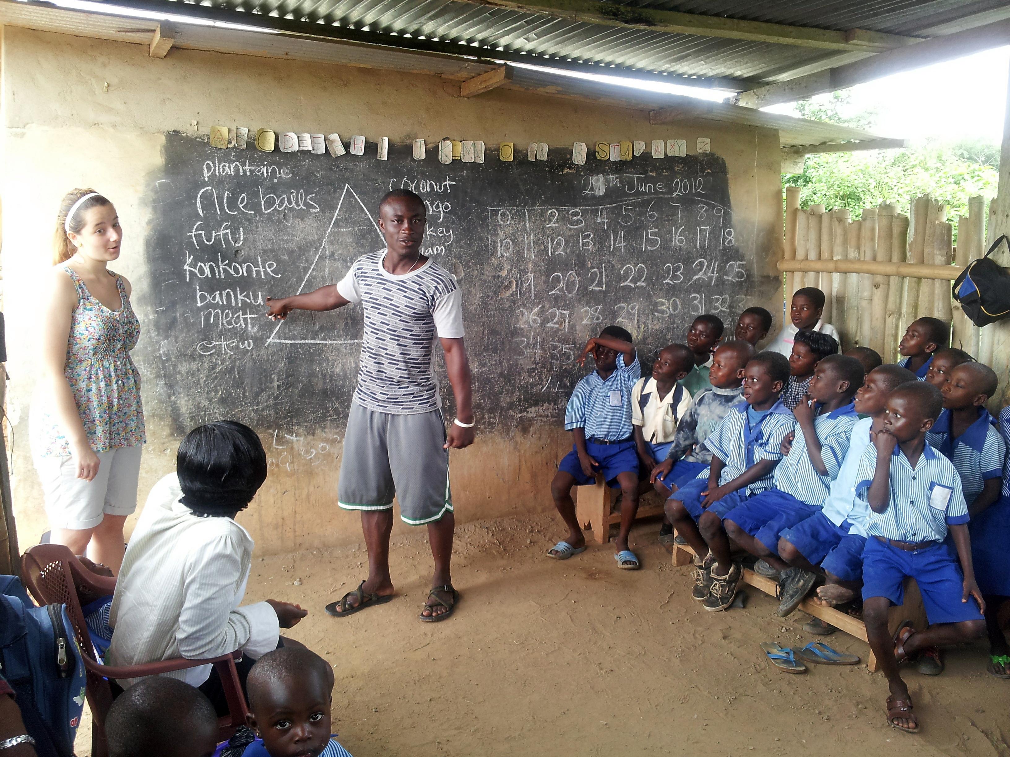 Program in Ghana (class 2)