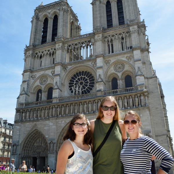 Notre Dame, Paris, France, Teen Travel