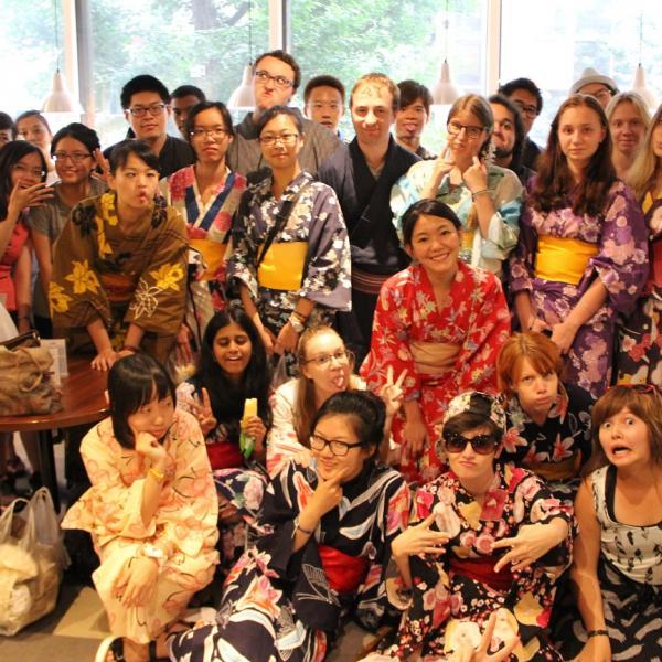 yukata summer japan hokkaido