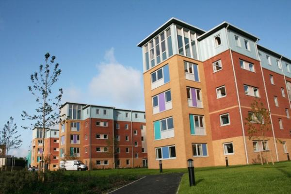 student houses in Bangor University