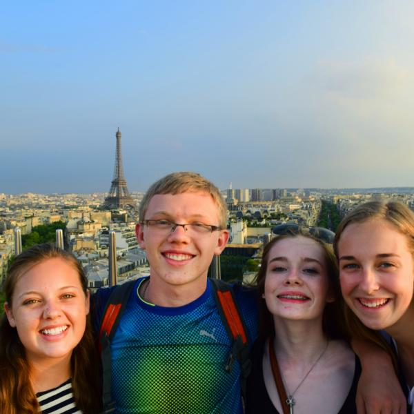 Eiffel Tower, Paris, France, Arc de Triomphe, Teen Travel