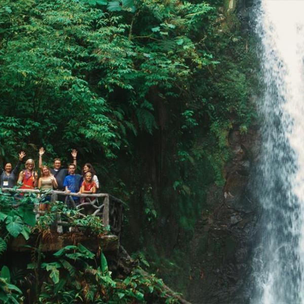 Visiting La Paz Waterfall Garden