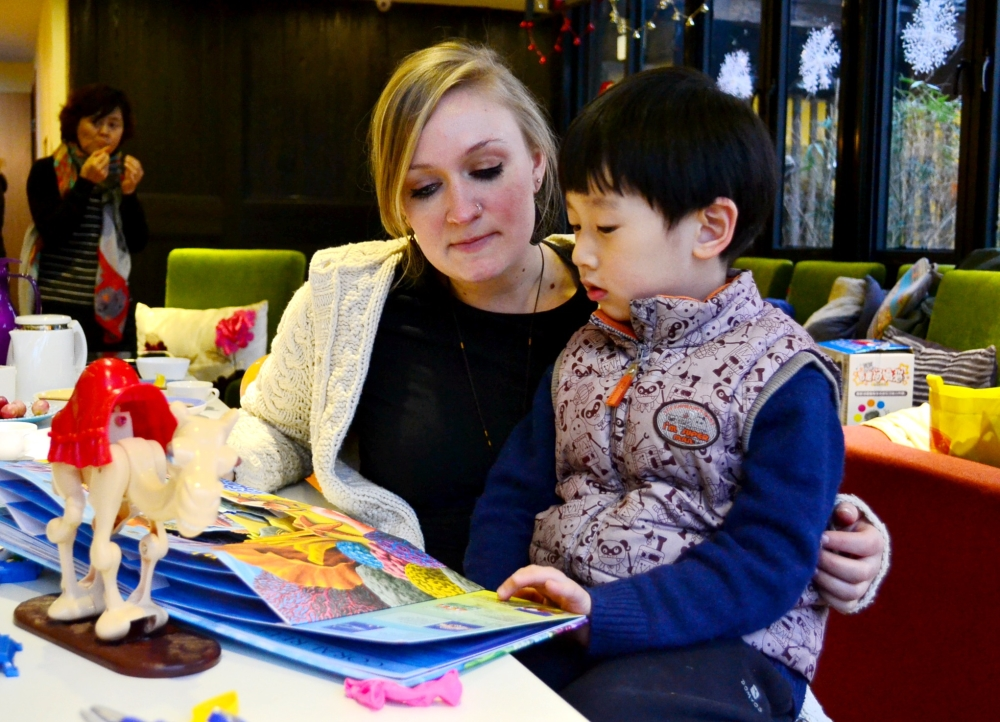 aupair in China