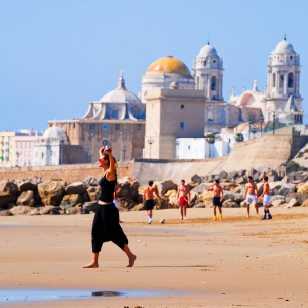 Athena Study Abroad Cadiz, Spain Beach