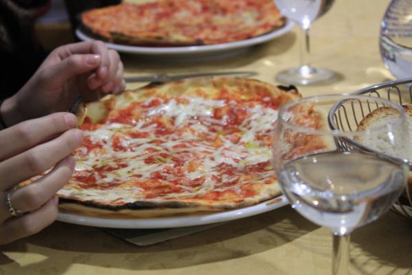 Pizza, Italian food, delicious