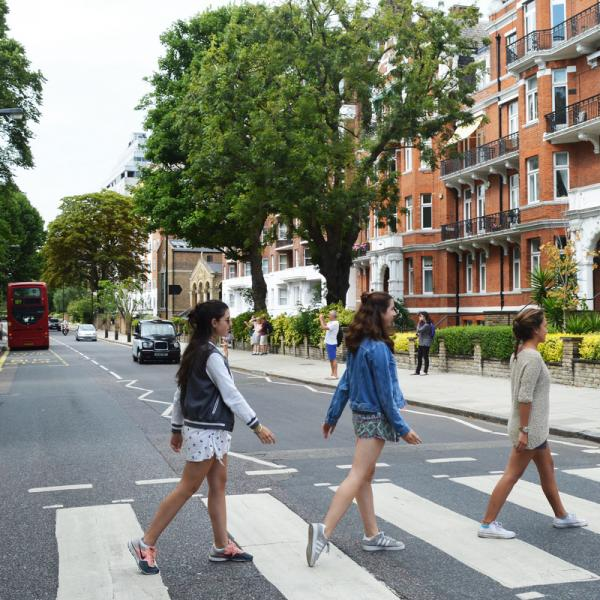 Abbey Road, The Beatles, Teen Travel, London, England, British, Britain, United Kingdom, UK