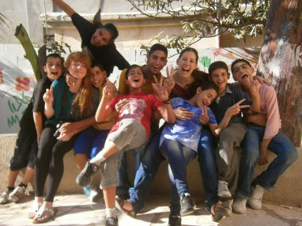 Refugee Camp Programs in Palestine with Love Volunteers