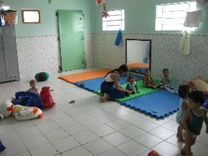 Argentina, care for children in a creche in Rio de Janeiro