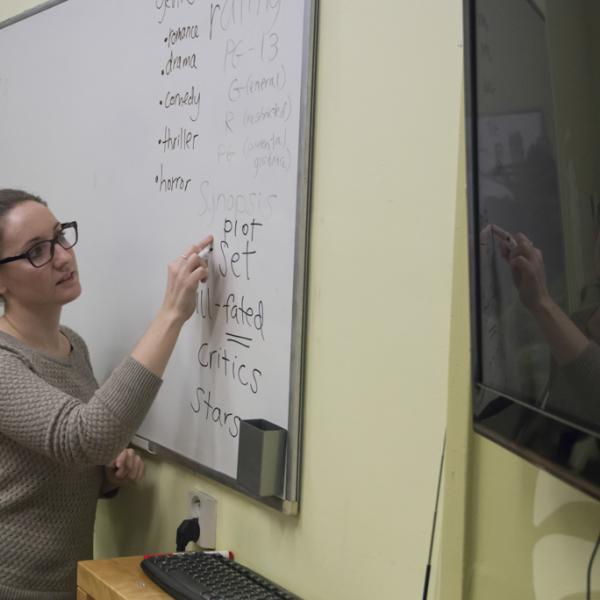 Teaching practice, TEFL course, Prague