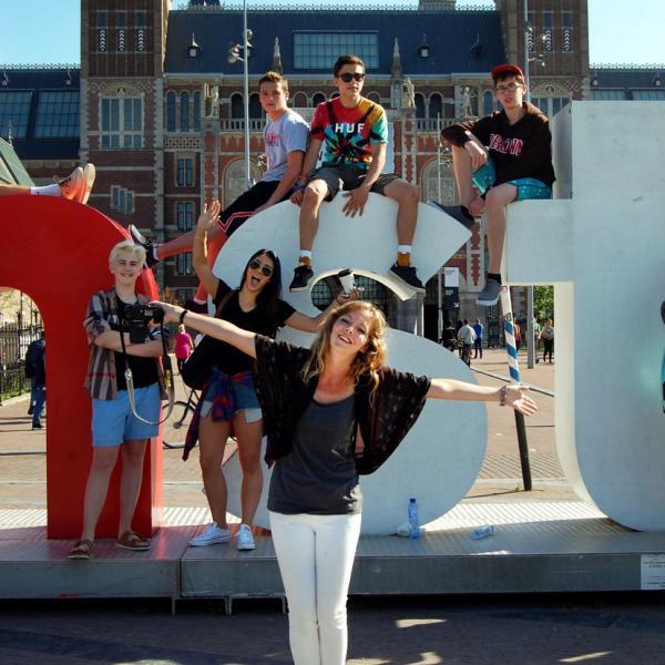 Amsterdam, Netherlands, Holland, Rijksmuseum, I Amsterdam, Teen Travel