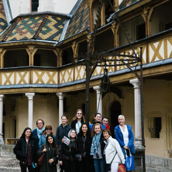 Group trips to French regions, like Burgundy, are included in the APA Paris Advanced program.