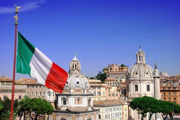 flag italian italy