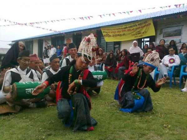 Ghalegaun Home stay Village farewell Dance