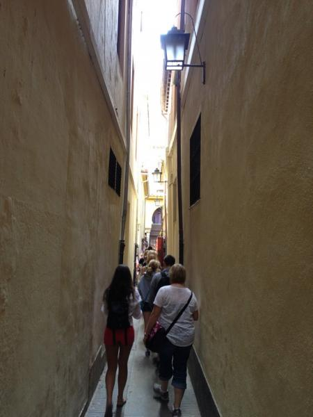 Seville, Sevilla, YES in Spain, Group tour in Seville, High School Study Abroad