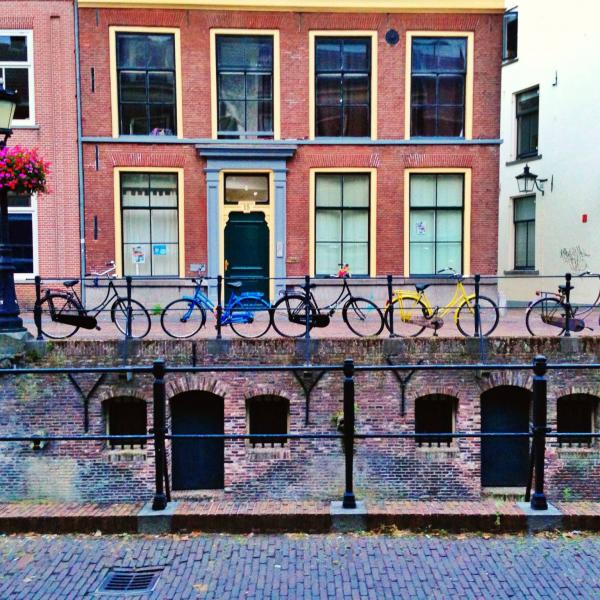 Parked bikes in EUrope