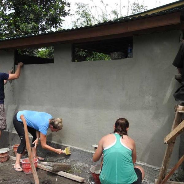 Bali Construction and Renovation Volunteers