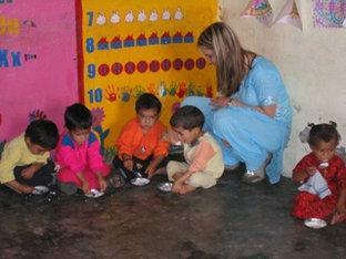 High School Volunteer Abroad in Dharamsala India