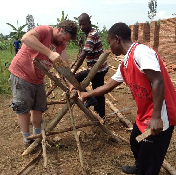 Construction Programs in Rwanda with Love Volunteers!
