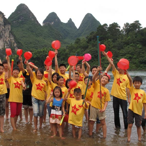 Waterfight Yangshuo Dahuwai Gotoco