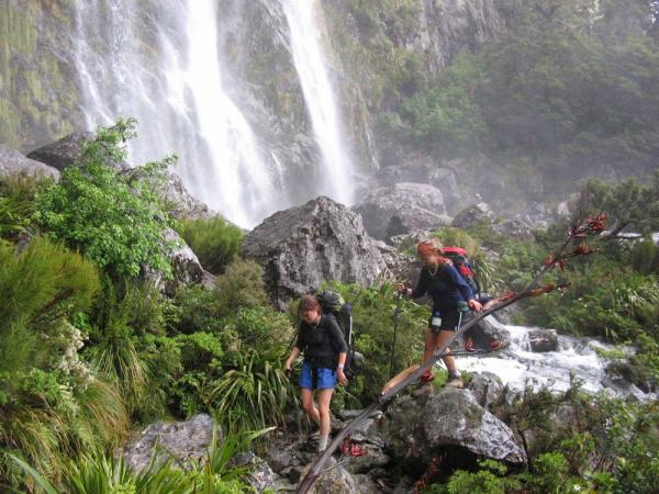 Tramping in Kahurangi National Park