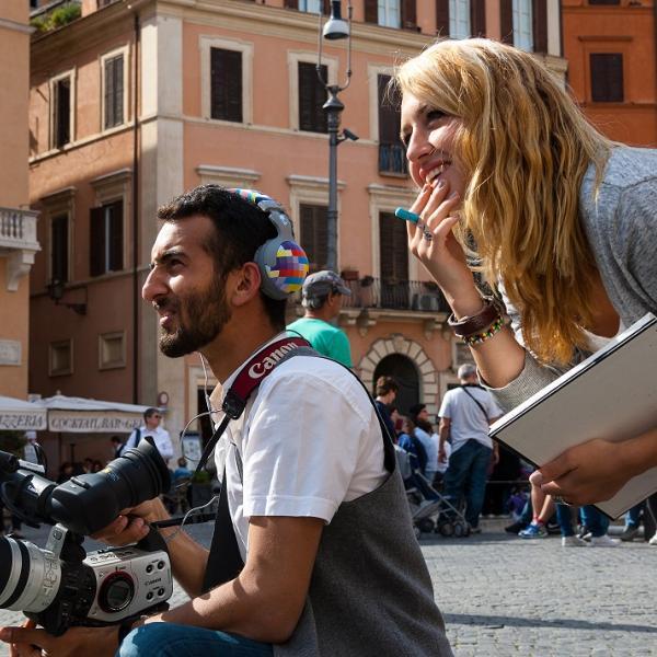 Film Class in Piazza Navona