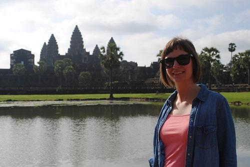 Visit Angkor Wat temple on weekends in Cambodia