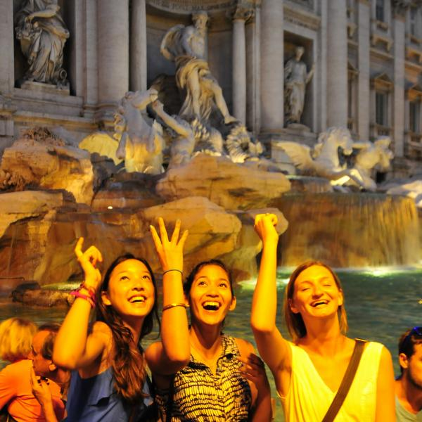 Italy, Rome, Younger Teens, Middle School, Trevi Fountain, Teen Travel