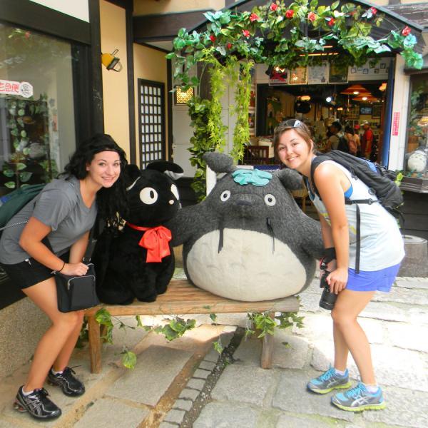 Athena Study Abroad Kyoto, Japan Students
