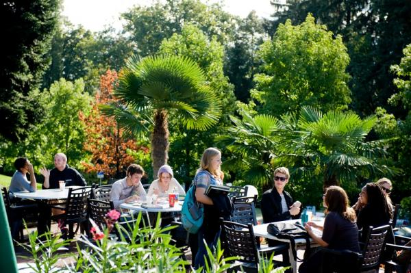 Franklin College Switzerland Kaletsch Campus Grotto Terrace