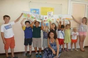 French summer courses for children