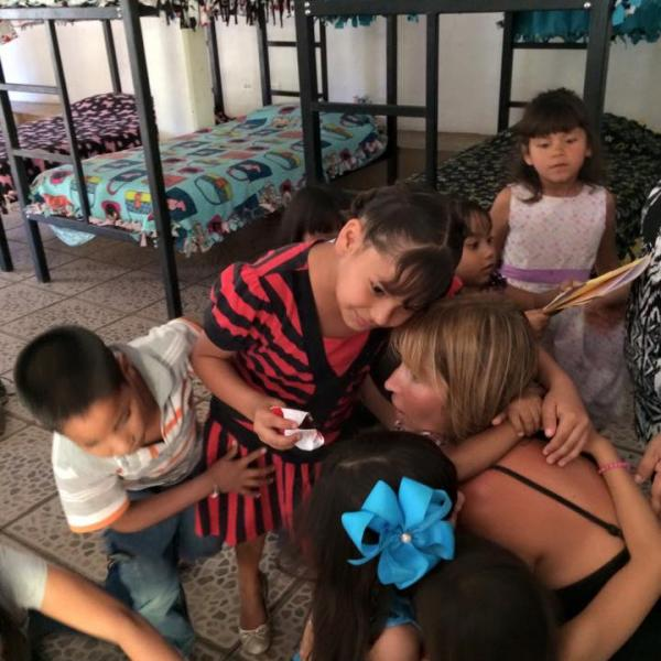 volunteering at the childrens shelter and orphanage in mexico