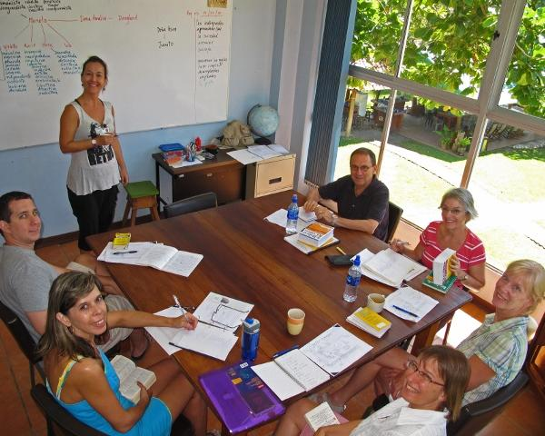 Group Spanish classes for all ages, Samara Beach Costa Rica