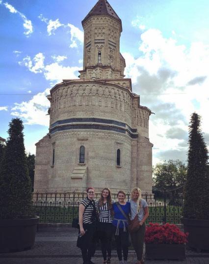 A beautiful church in Iasi, Romania
