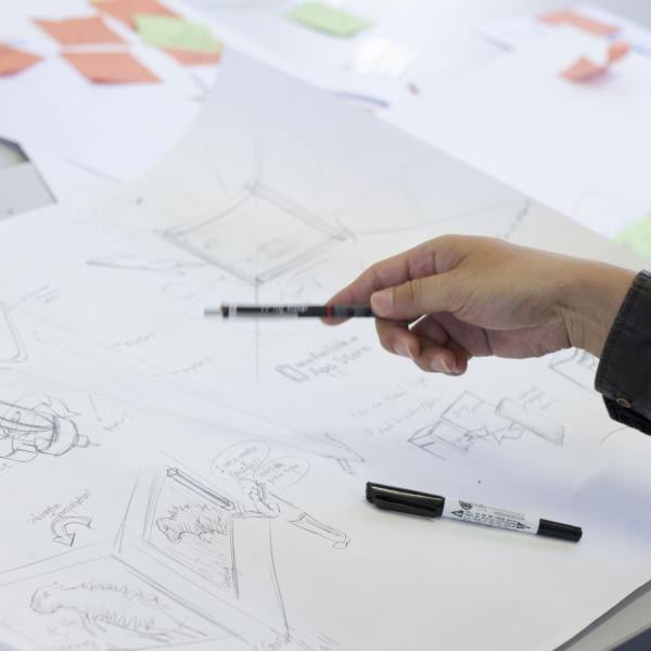 Idea generation in the product design studios at Nottingham Trent Uiversity