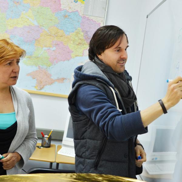 NovaMova Russian language school in Kiev