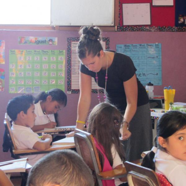 Teaching at Minerva School, Honduras
