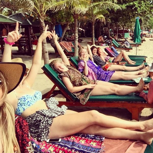 Athena Study Abroad Koh Samui Island, Thailand Students