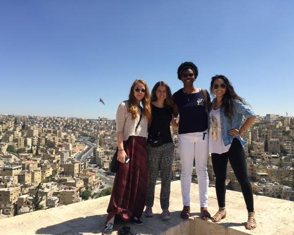 FIE Students in Amman Jordan