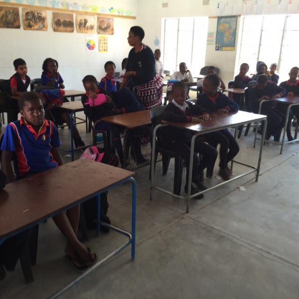 Classroom at Rivoningo