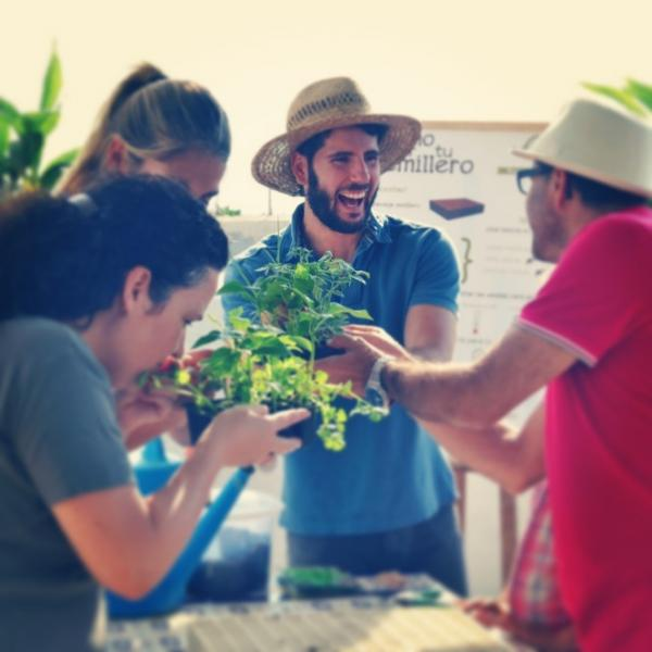 Free green workshops in Spanish